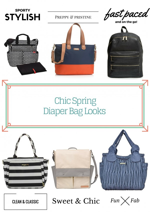 Chic Spring Diaper Bags