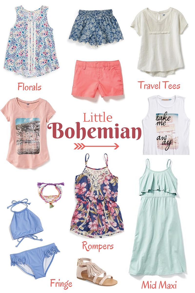 Boho Chic Style For Girls