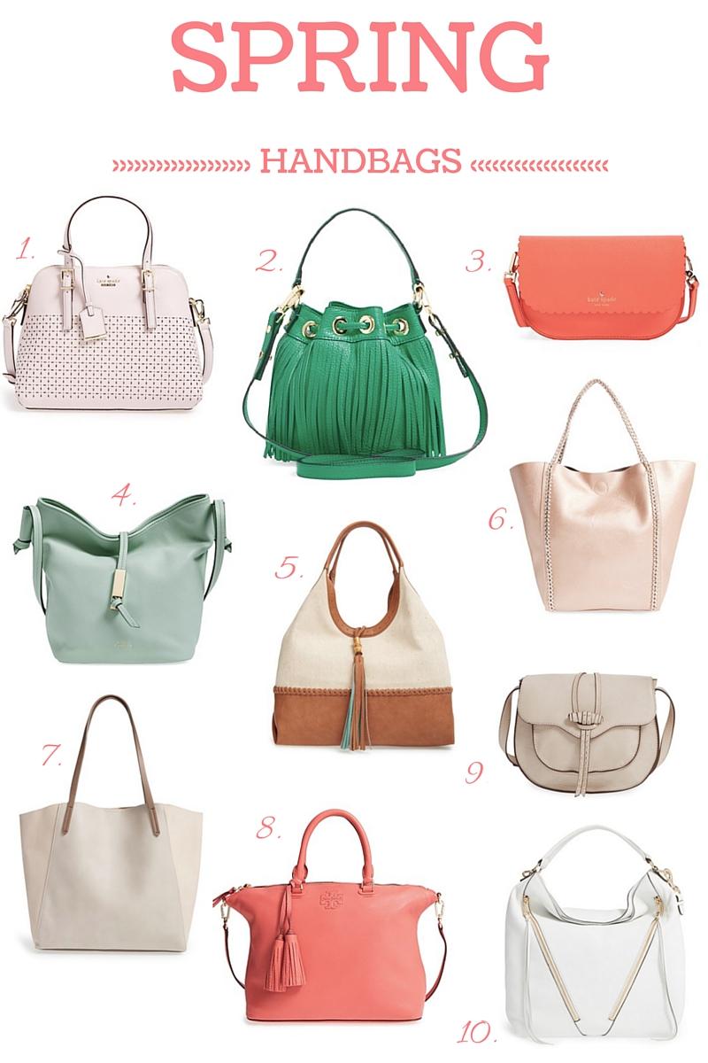 Spring 2016 Handbag Trends
