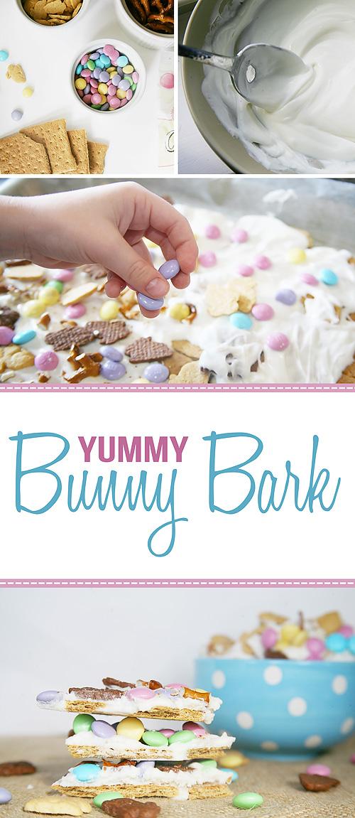 Easy, No-Bake Bunny Bark