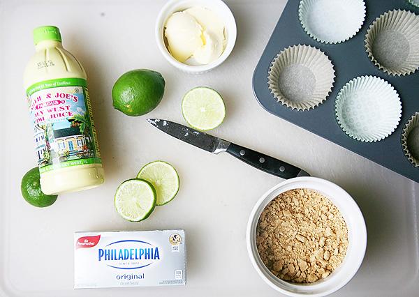 Key Lime Pie Cupcake Ingredients