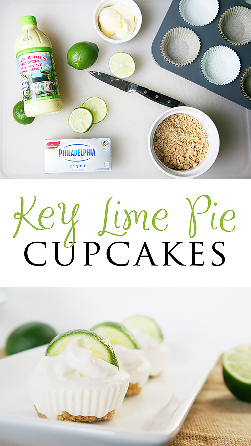 Key Lime Cupcakes... No Bake Recipe!