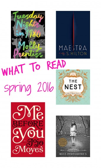 spring book recommendations