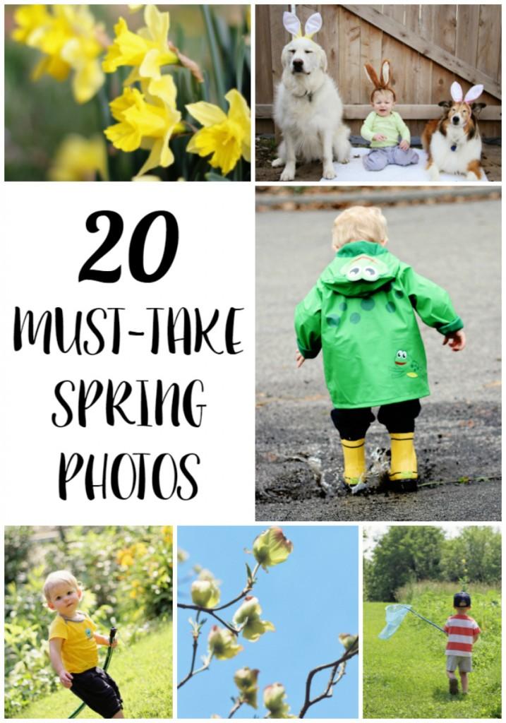 20 Must Take Spring Photos