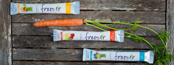Froozer Frozen Snacks for Kids are 100 Percent Natural
