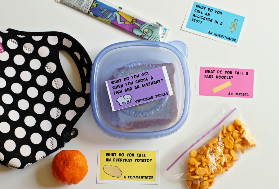 Printable Lunch Box Jokes for Kids (FREE!)