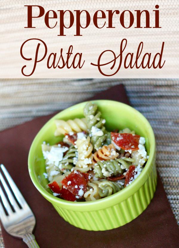 Perfect Pepperoni Pasta Salad