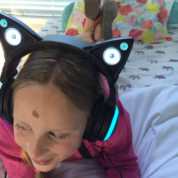 Cat Headphones for Kids