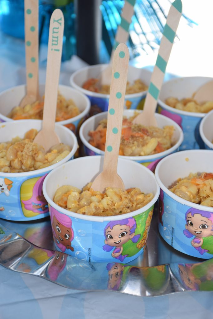 Bubble Guppies Mac and Cheese