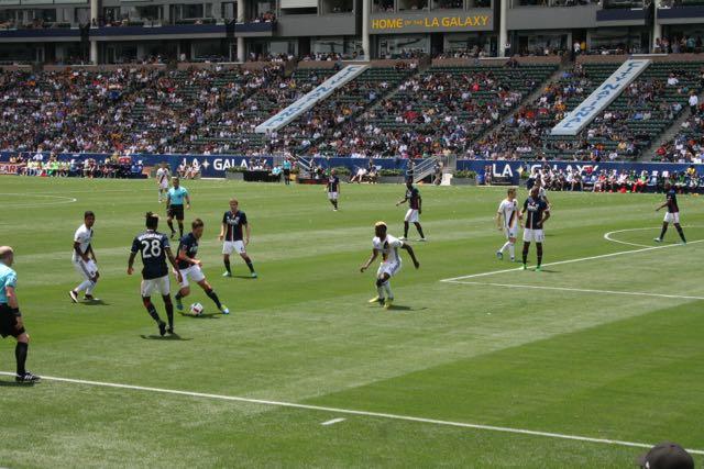 sunscreen LA Galaxy defends