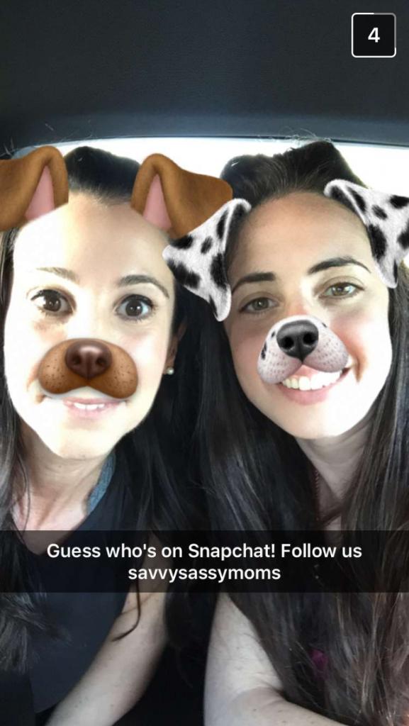 SavvySassy Moms do SnapChat