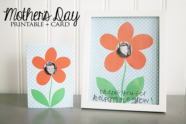 FREE DIY Printable Mother's Day Card