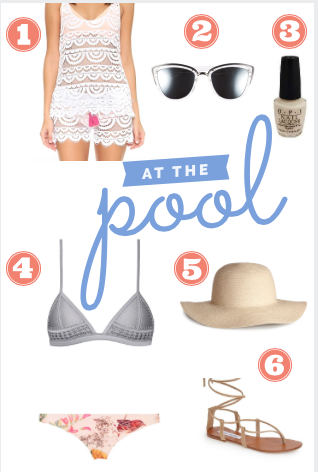 Fashion Friday: Poolside Style