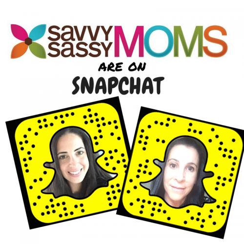 Savvy Sassy Moms on Snapchat