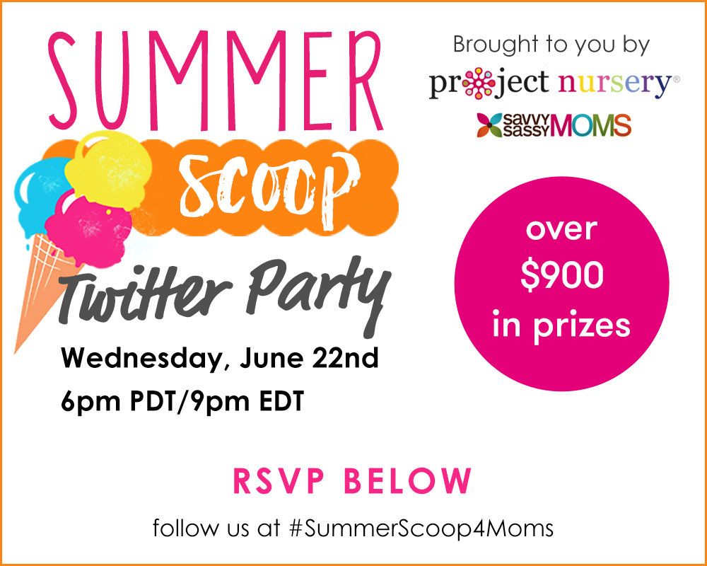 #SummerScoop4Moms Twitter Party- Join Us!