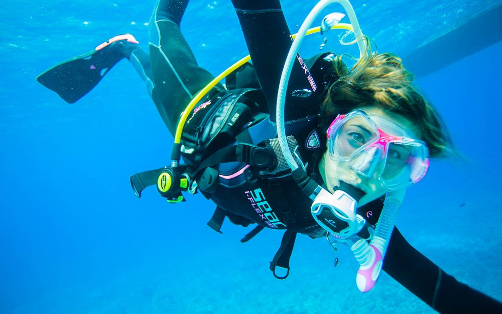 Have you tried scuba diving?