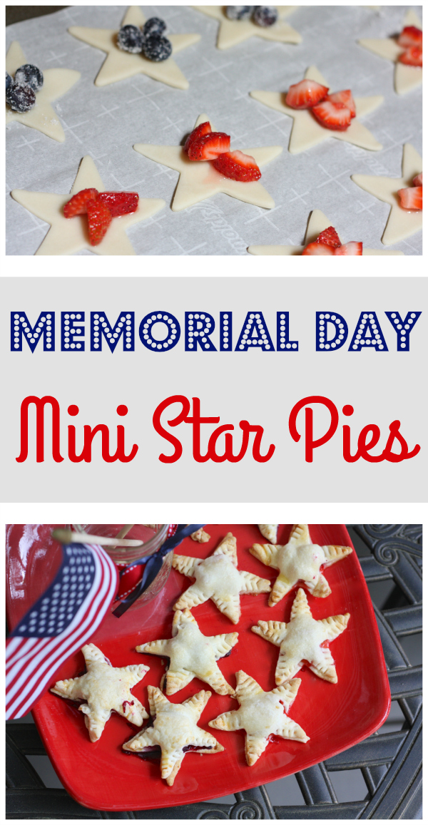 Memorial Day Mini Star Pies