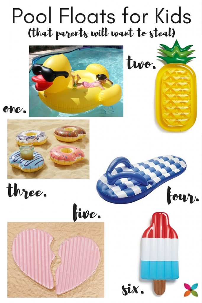 6 Pool Floats for Kids (That Parents Will Want to Steal!)