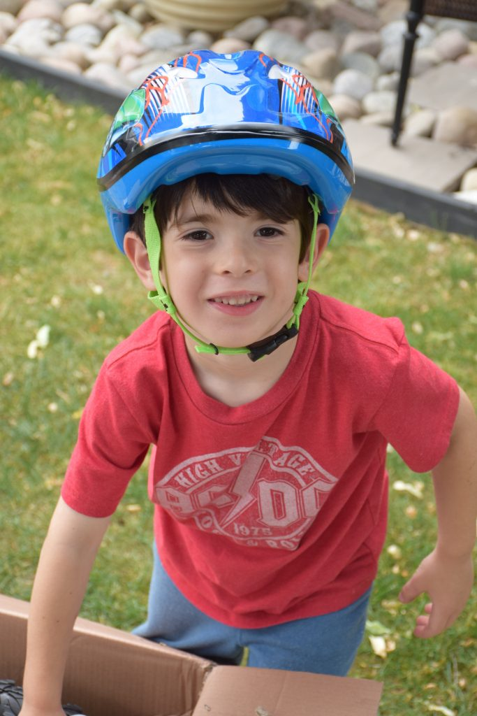 Hot Wheels Boys Bicycle Helmet