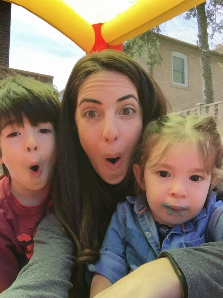 Make your kids laugh with Silly Selfies