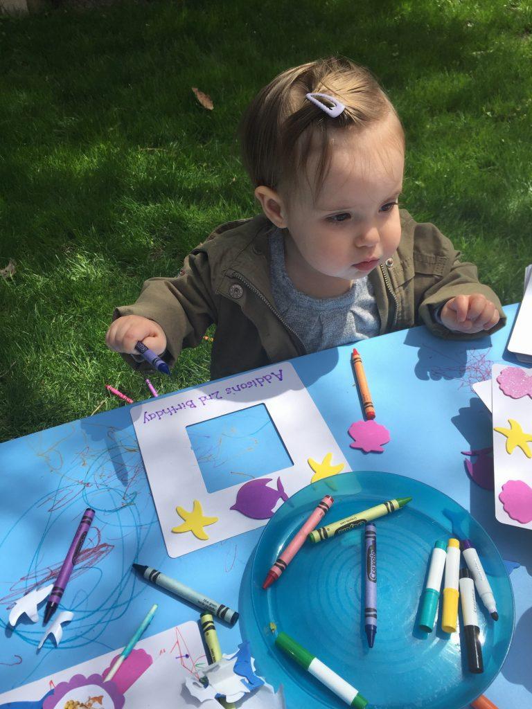 Bubble Guppies Birthday Craft