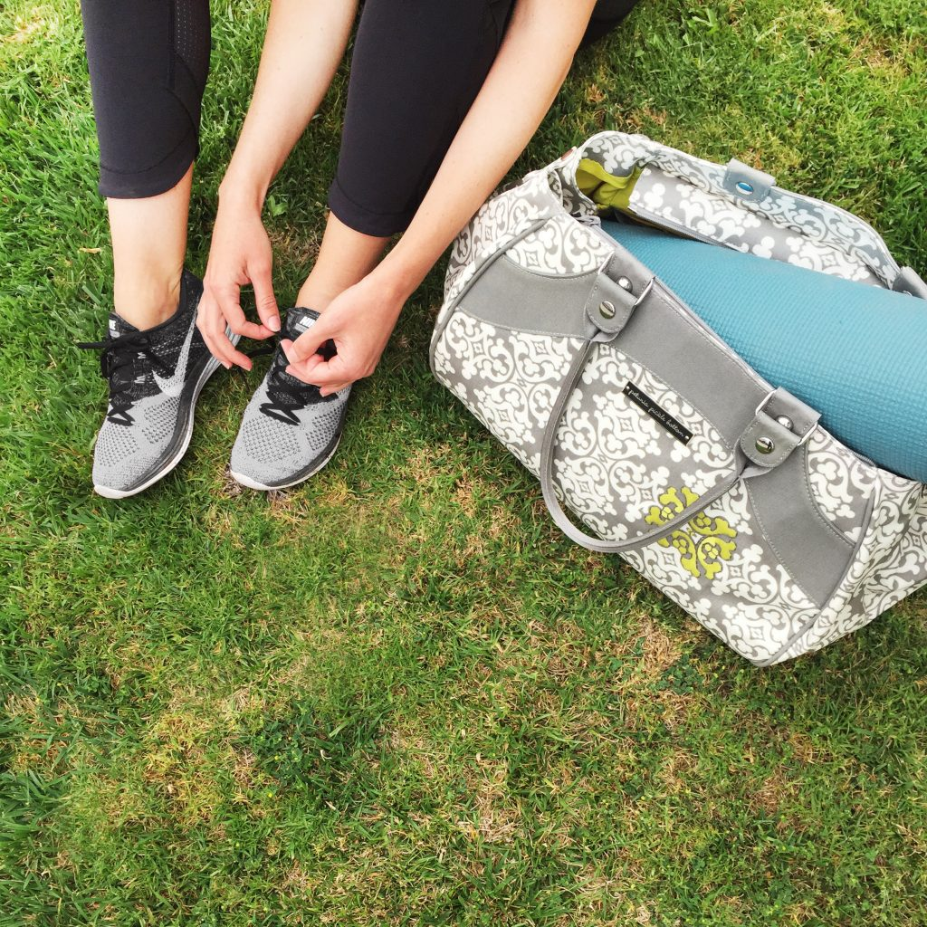 Diaper Bags That Go From Diapers to Gym