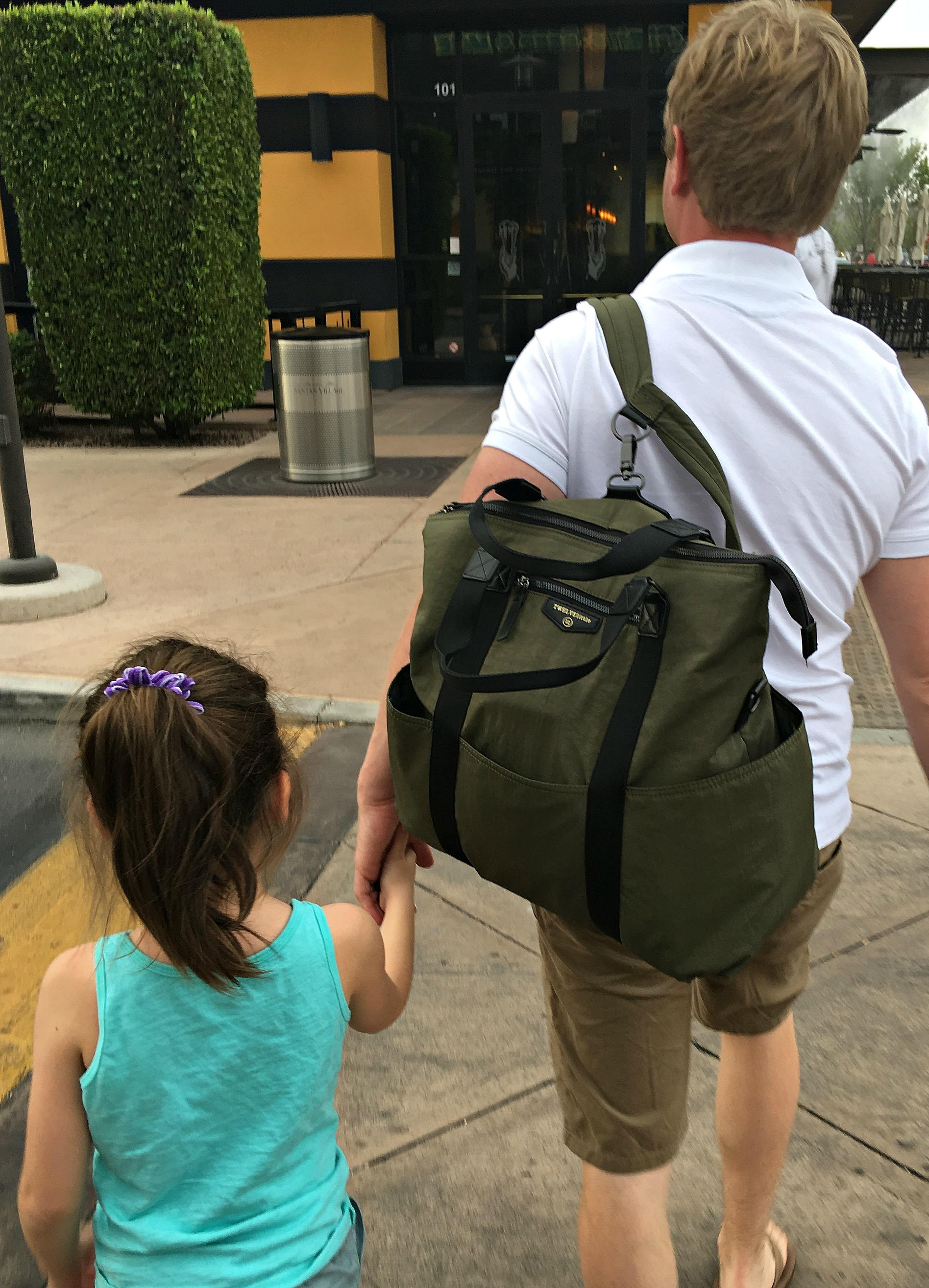Double Duty Diaper Bags That Dads Will Love, Too
