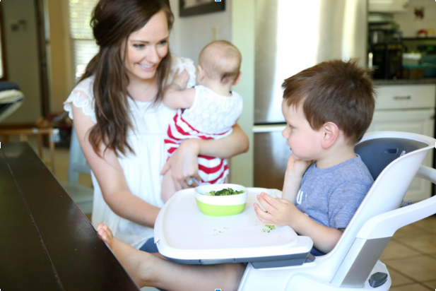 What we love about the new 4moms magnetic high chair