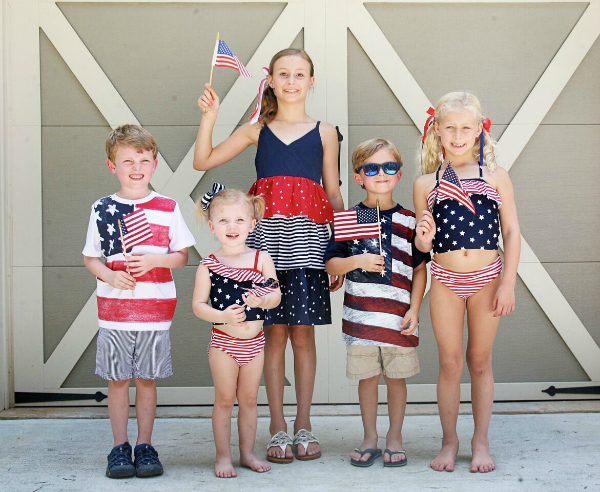 4th of July Style for Kids