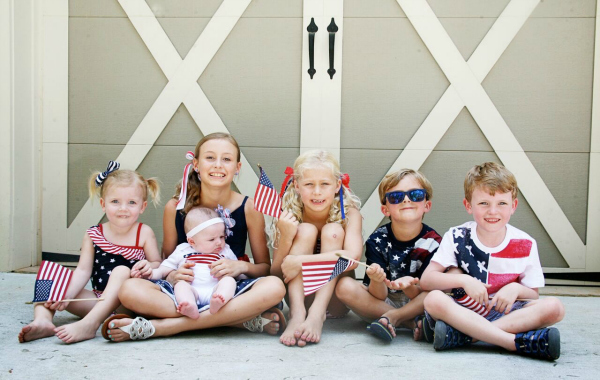 The CUTEST 4th of July Outfits for Kids