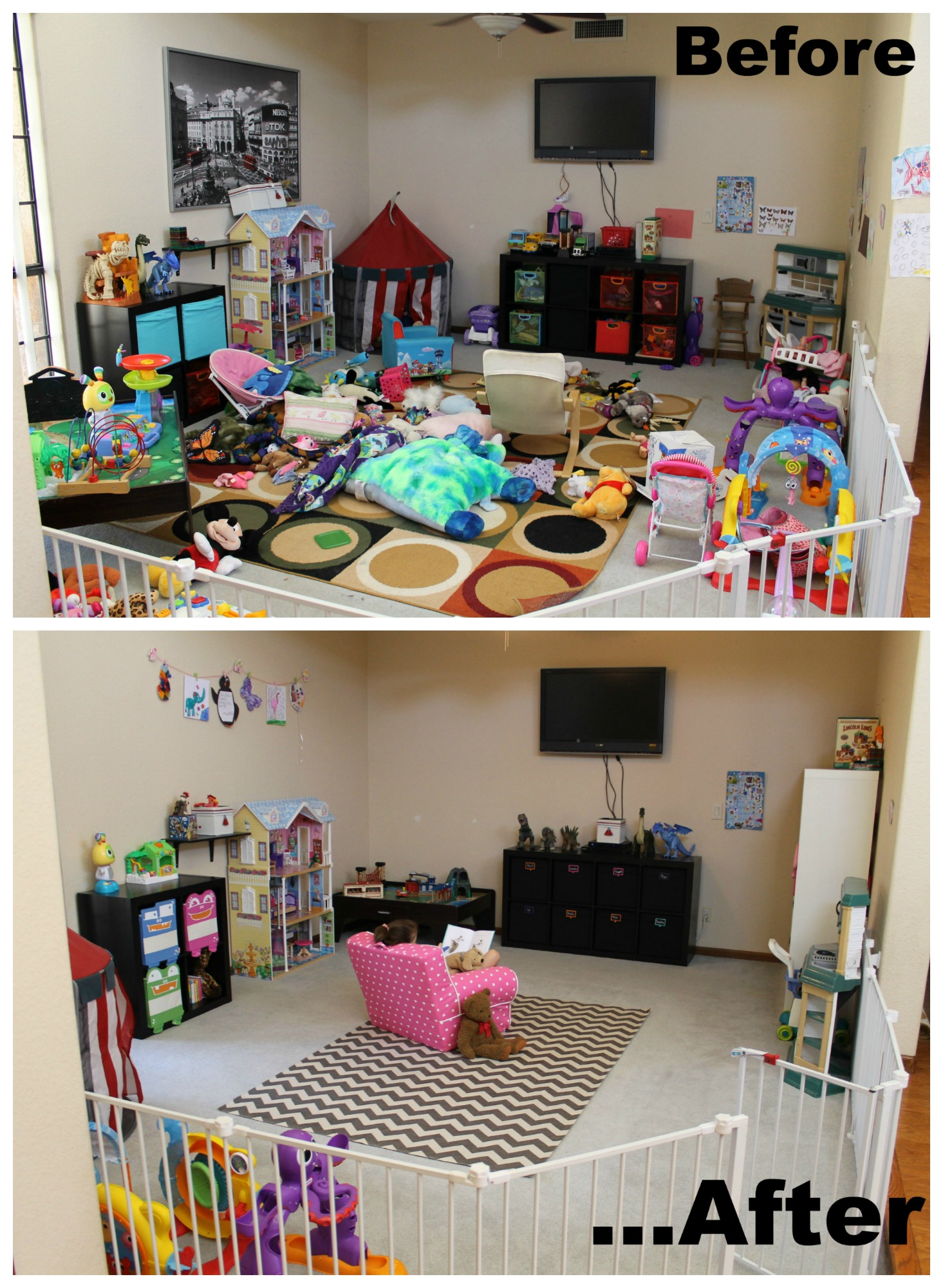 4 Easy Playroom Makeover Ideas