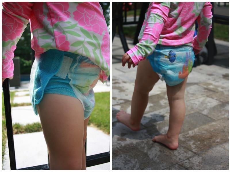 Swim Diaper Test