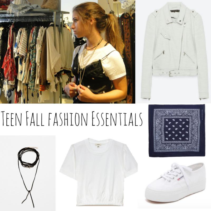 Teen Fall Fashion Essentials for Back-to-School