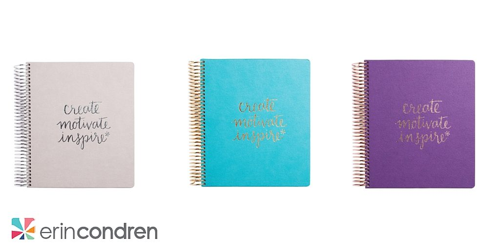 Erin Condren Designs Luxe LifePlanner Giveaway