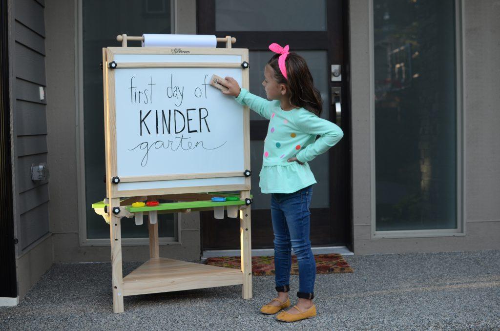First Day of Kindergarten Photos
