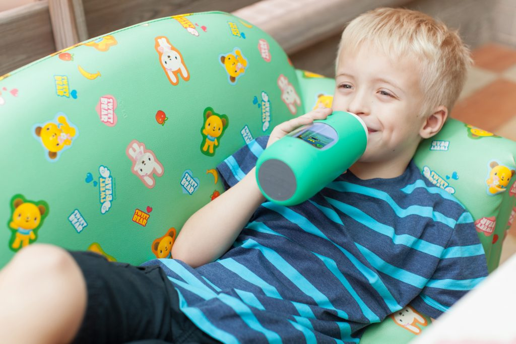 Gululu Interactive Water Bottle for Kids That Tracks Their Water Intake