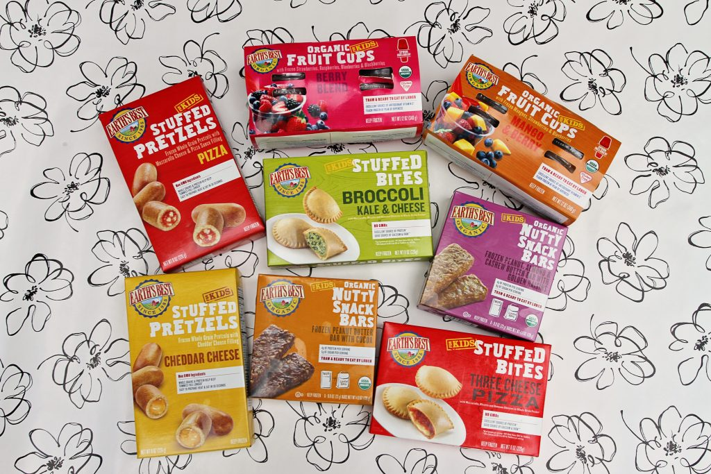 Earth's Best healthy frozen snacks