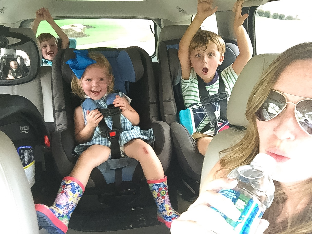 Carpool Survival List for Moms