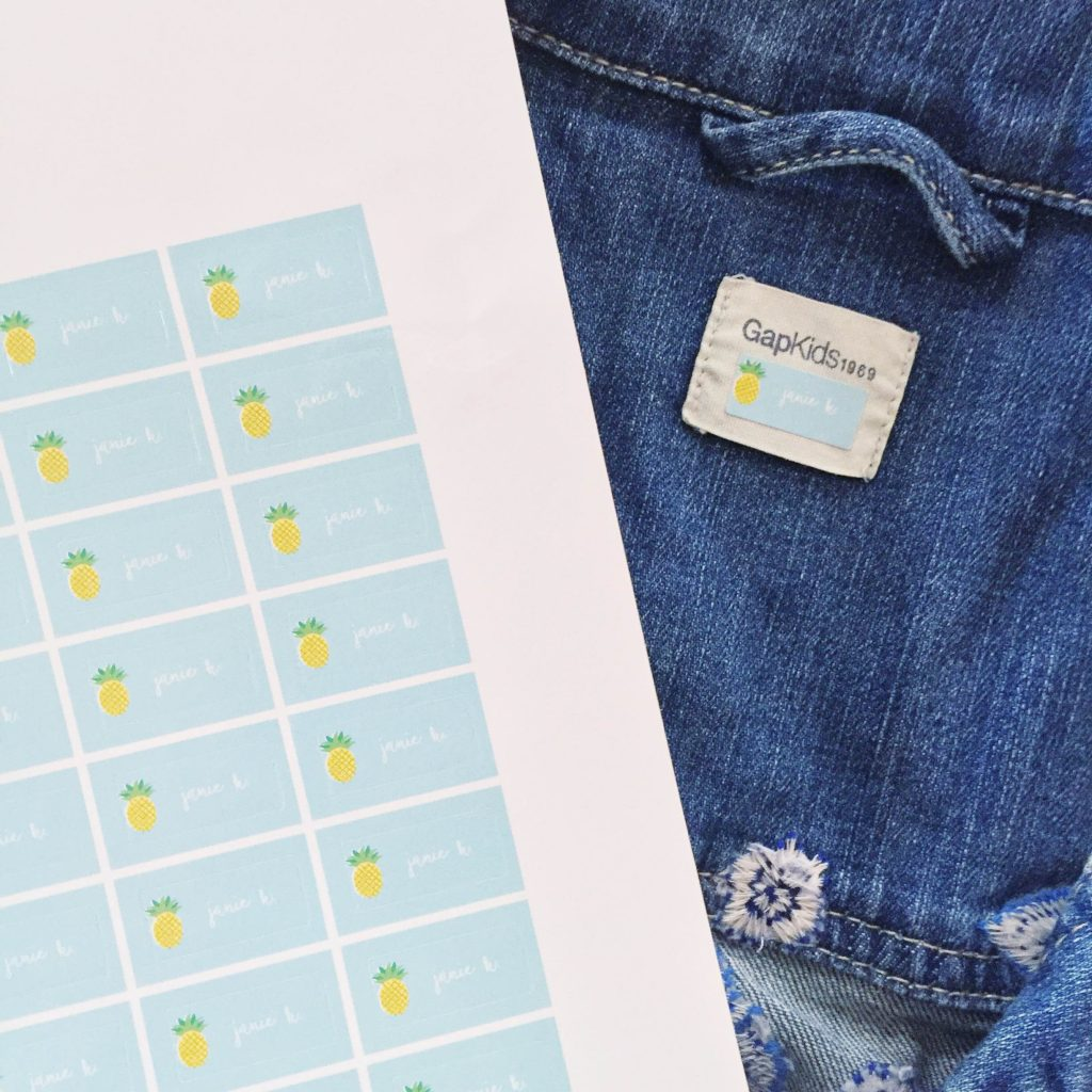 New Minted Clothing Labels