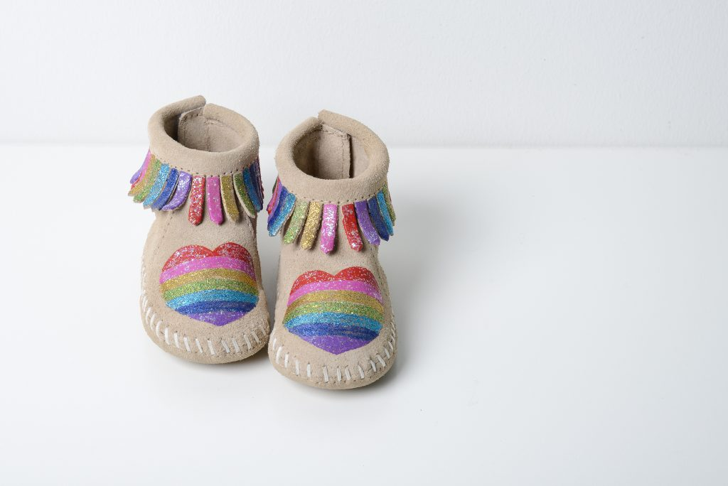 Minnetonka Moccasins Collaboration with Free Range Mama