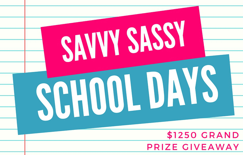 Savvy Sassy School Days Featured Image