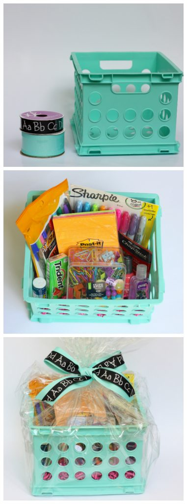 Back-to-School Teacher Gift Basket Ideas