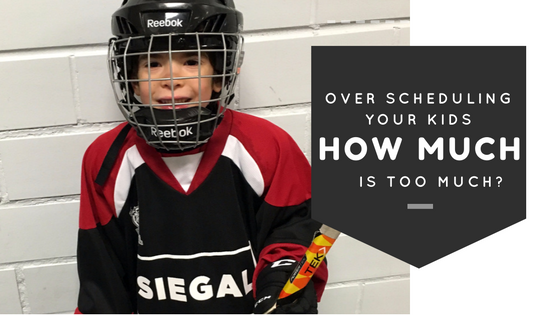 Over Scheduling Your Kids