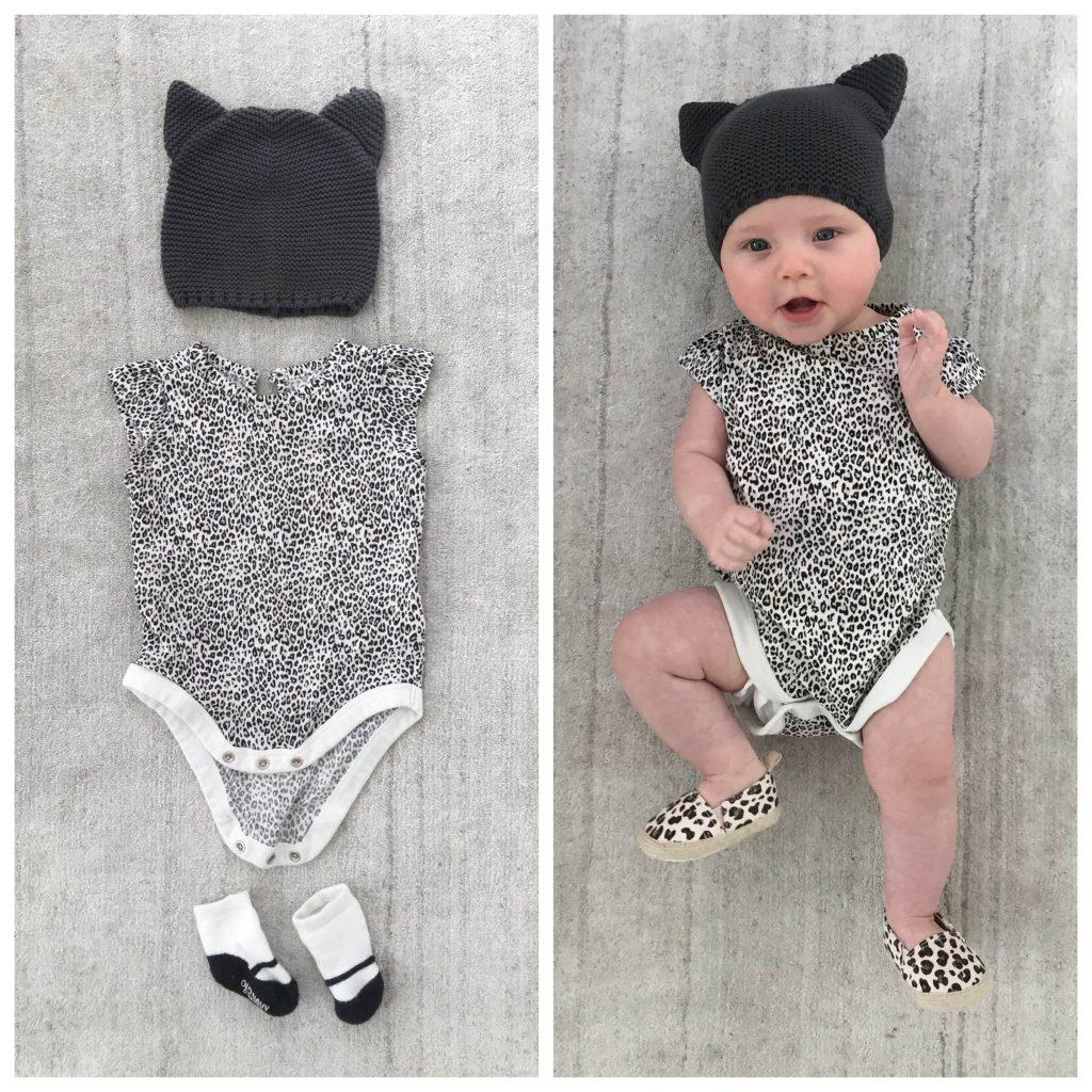 DIY Baby Cat Halloween Costume
