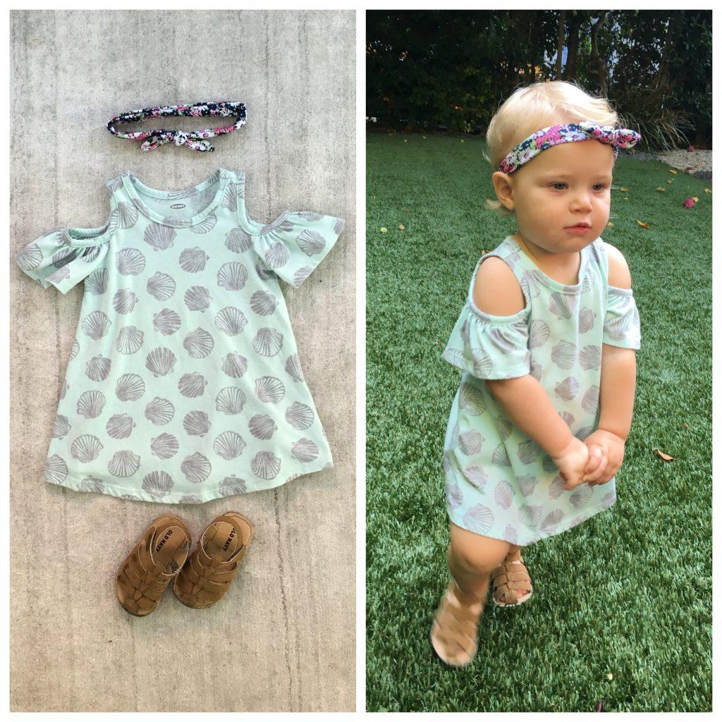 DIY Baby Halloween Costume: Coachella Flower Child