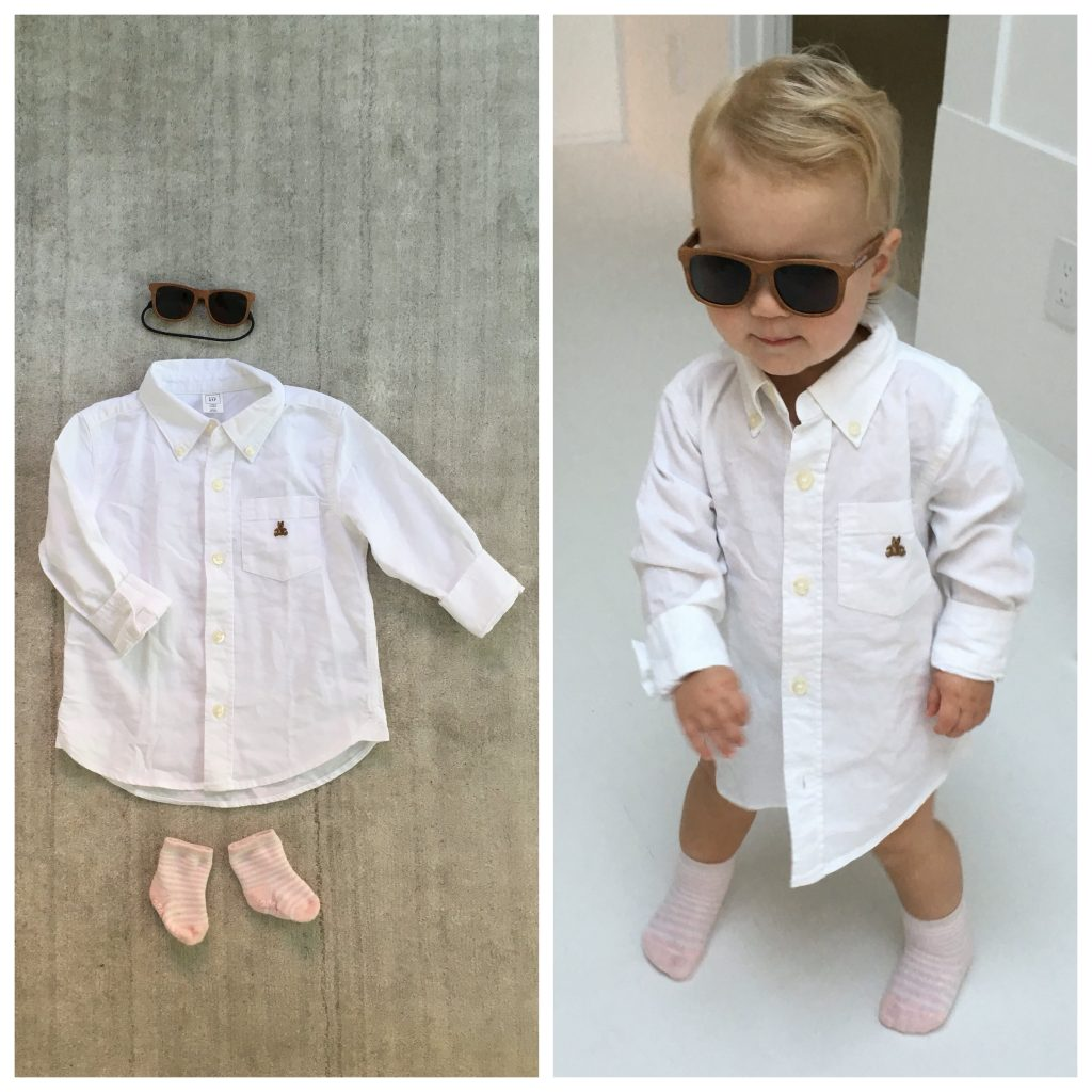 DIY Baby Halloween Costumes: Risky Business