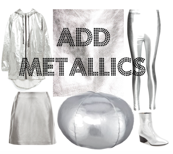 Metallic Styles for Fall 2016