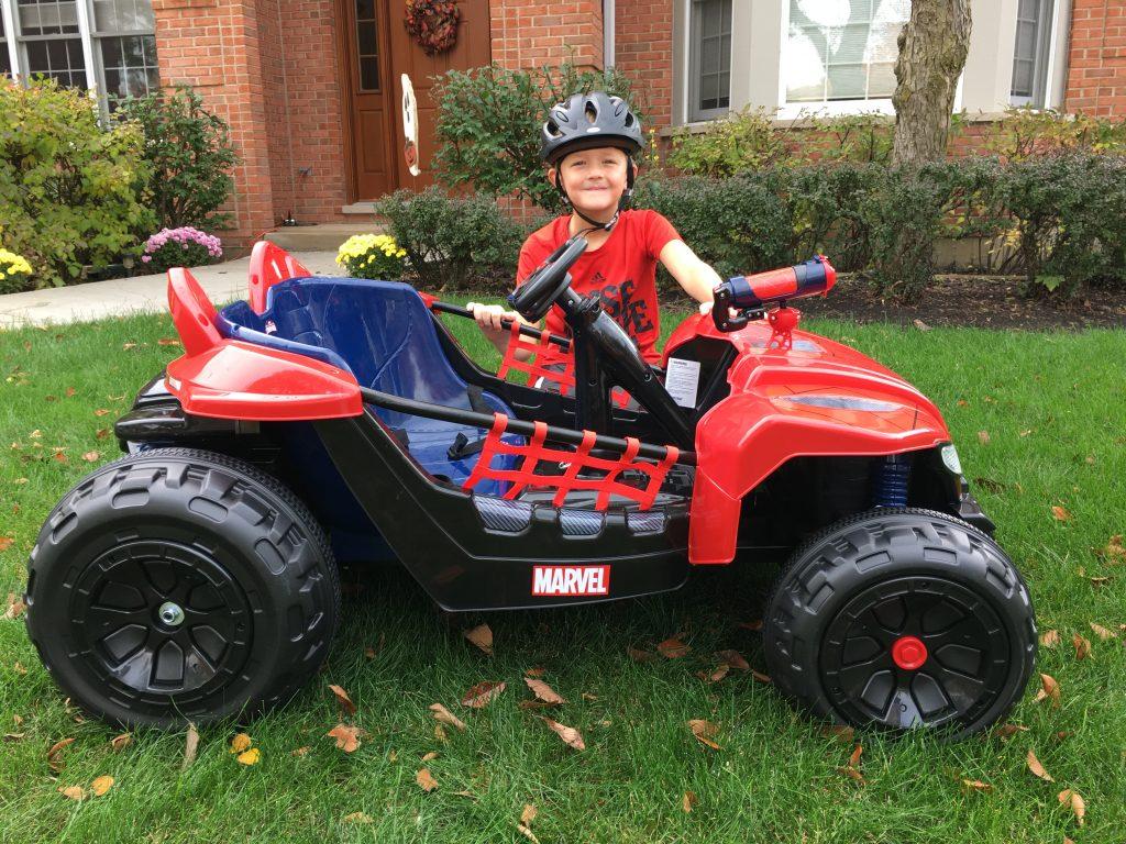 Spiderman 6V Super Car