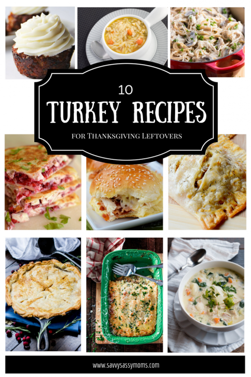 10 Turkey Recipes for Thanksgiving Leftovers