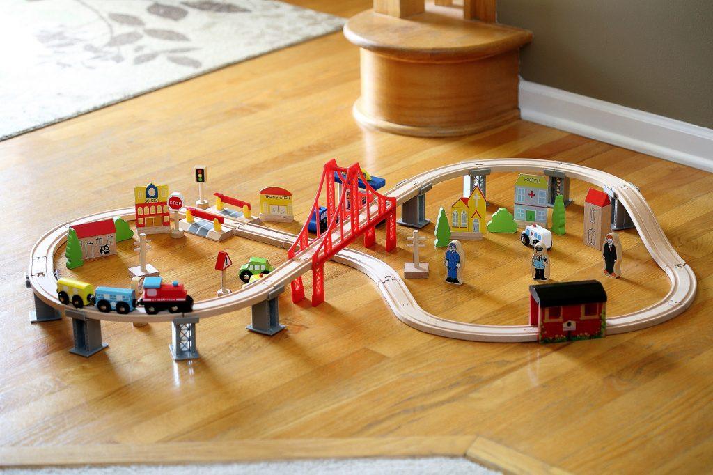 Cubbie Lee Toys 70-Piece Train Set